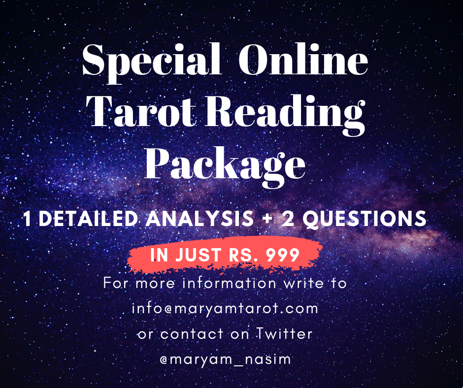 Online tarot reading rates and charges by Maryam Nasim